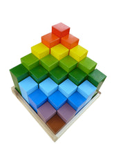 Load image into Gallery viewer, Rainbow Engineering Blocks