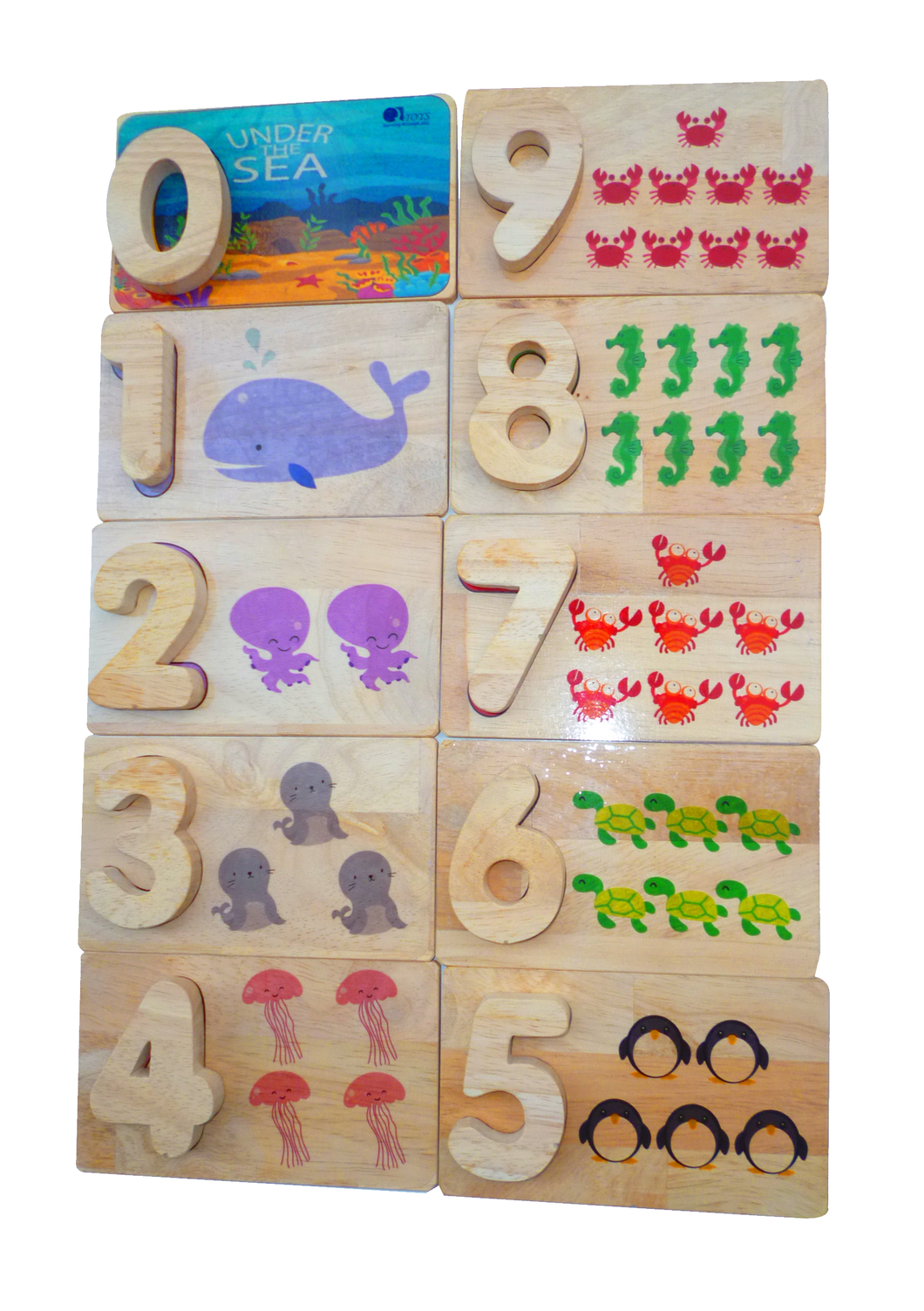 Sea Life Number Matching Game
