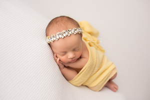 Rhinestone and Beaded Headband