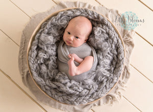 Gray Newborn Stretch Wrap