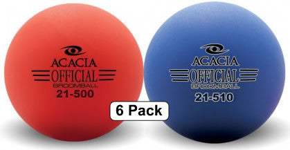 Official Broomballs - 6 Pack