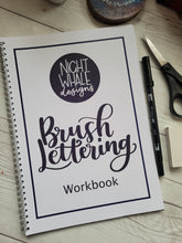 Load image into Gallery viewer, Brush Lettering Workbook