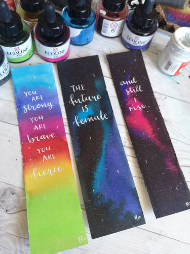Bookmarks - Night Whale Designs