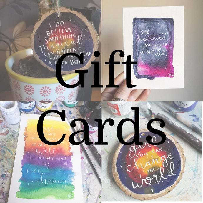 Gift Cards - Night Whale Designs