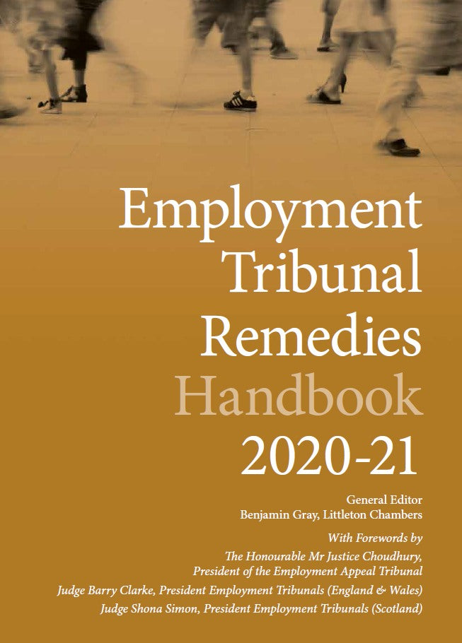 In print now: Employment Tribunal Remedies Handbook 2020-21
