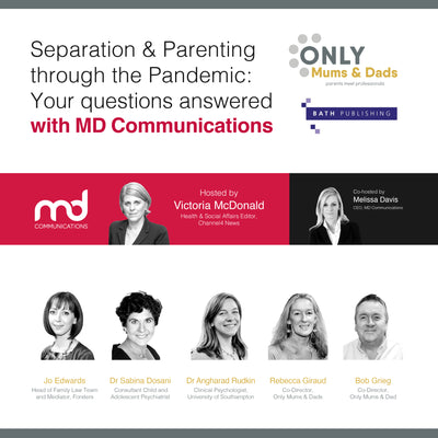 WATCH AGAIN: Separation & Parenting through the Pandemic: Your Questions Answered