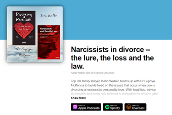 Listen to our authors talk about Narcissism and Divorce