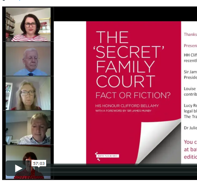 The Secret Family Court: Fact or Fiction? Watch the launch webinar