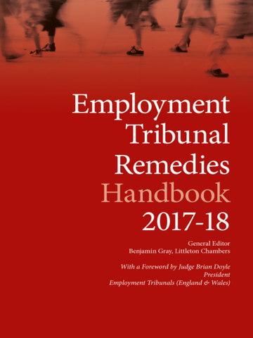 Employment Tribunal Remedies Handbook 2017-18
