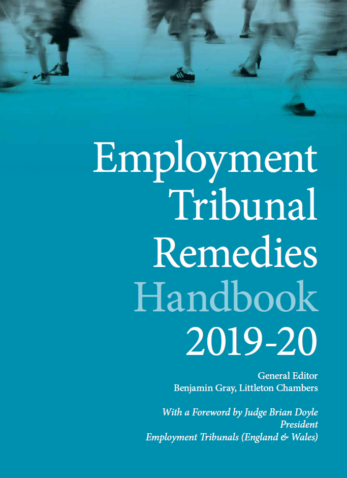 Employment Tribunal Remedies Handbook 2019-20