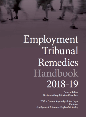 Employment Tribunal Remedies Handbook 2018-19