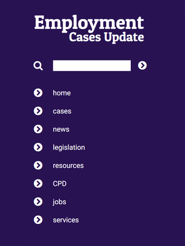 Employment Cases Update: CPD subscription