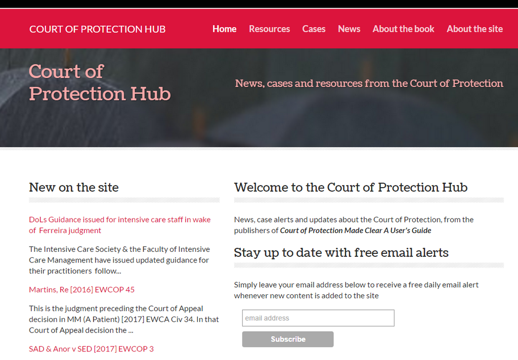 Court of Protection Hub
