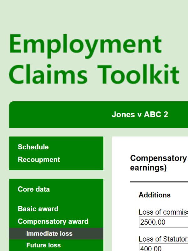 Employment Claims Toolkit