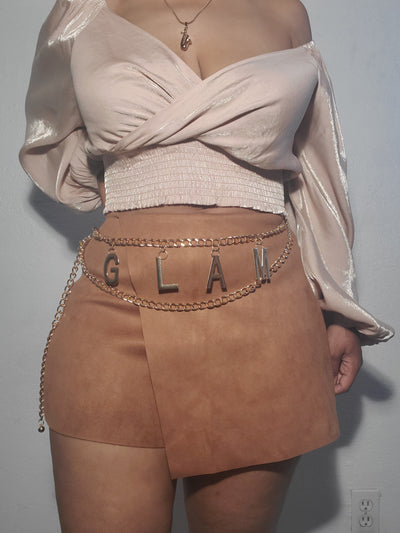 """GLAM"" Chain Belt"