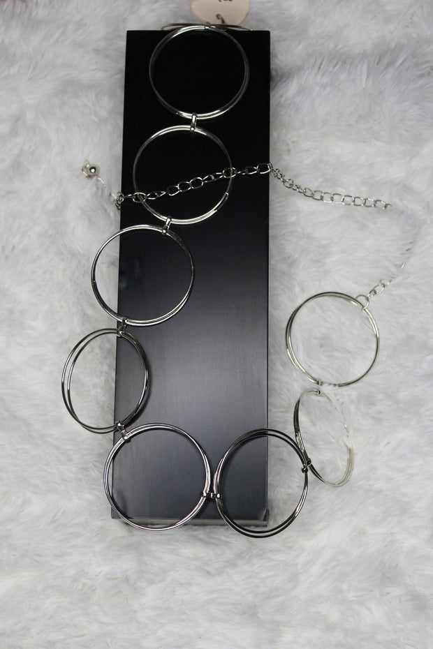 """O"" Ring Chain Belt"