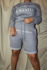 Broadway Blvd Fleece Short | Harbor Gray