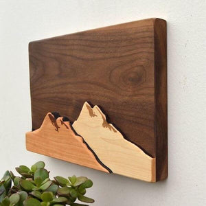 3D Mountain Wall Art - Home & Oasis