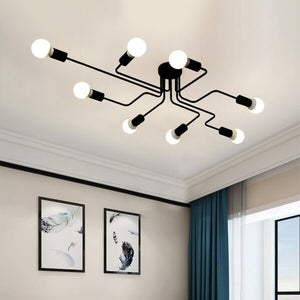 Industrial Iron Ceiling Lights - Home & Oasis