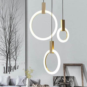 Radiant Ring Chandelier - Home & Oasis
