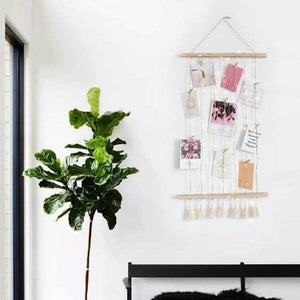 Timeless Twine Photo Wall - Home & Oasis