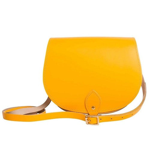 Lemon Saddle Bag