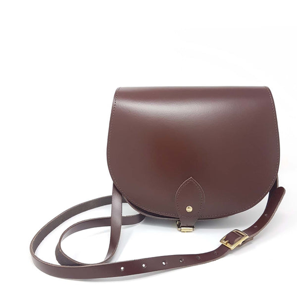 Oak Brown Saddle Bag