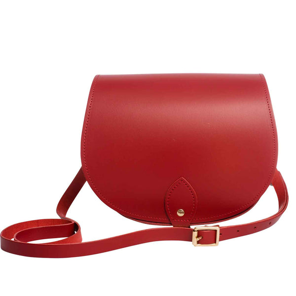 Red Saddle Bag