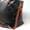 Regency Black Leather Travel Bag Sample