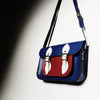 Blue British Mini Pocket Satchel