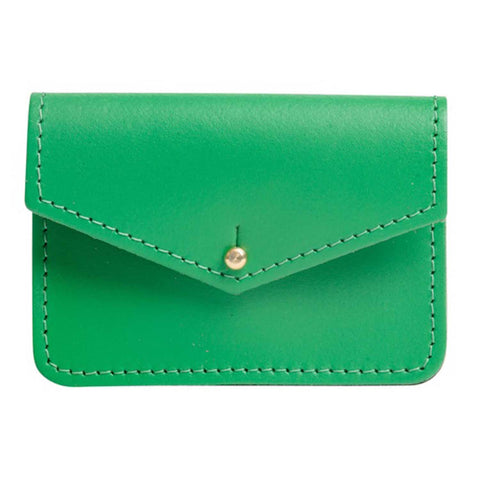 Sterling Emerald Money Pouch
