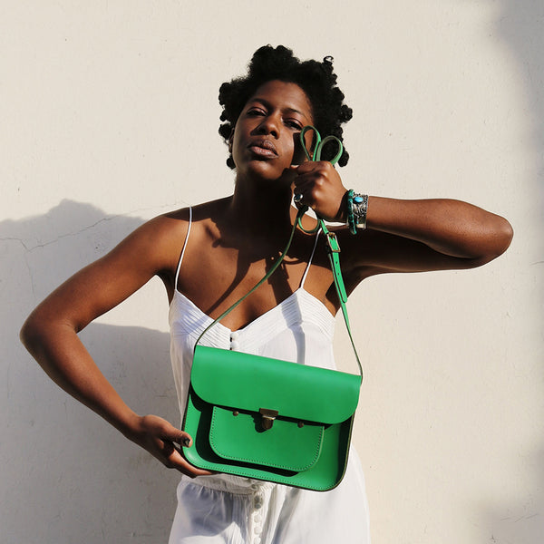 Emerald Mini Pocket Satchel