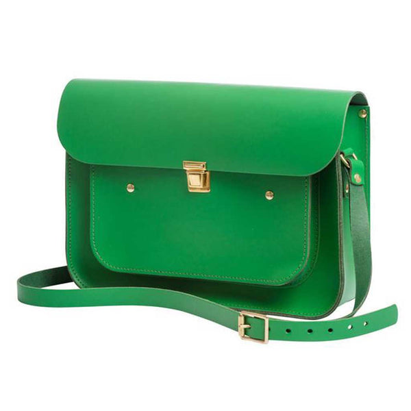 Emerald Medium Pocket Satchel
