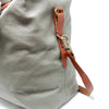 Regency Grey Leather Travel Bag Sample