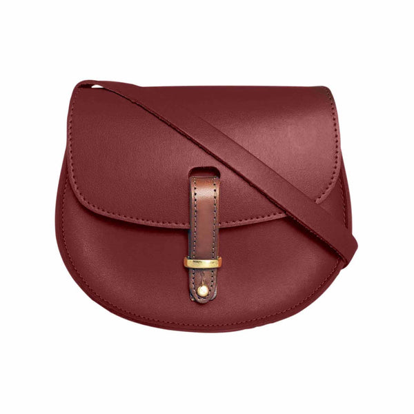 Best Wholesale Online Amazing Price N'Damus Leather Saddle Bag in Navy Explore Discount Codes Really Cheap Cheap Online Store Manchester JAWcFA