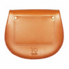 Mini Victoria Tan Leather Saddle Bag