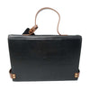 Piccadilly XL Black Leather Bag