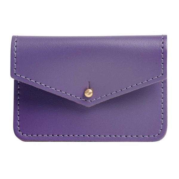 Sterling Purple Money Pouch