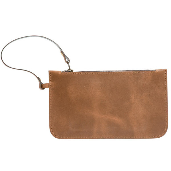 Eloise ranger hand clutch bag 100% leather