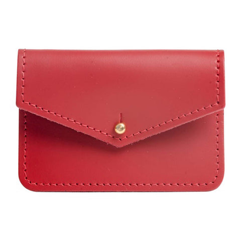 Sterling Red Money Pouch