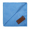 Regent Sky Blue African Print Pocket Square