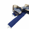 Regent Blue Wool Bow Tie