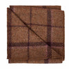 Regent Tan Wool Pocket Square
