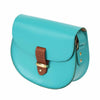 Victoria Aquamarine Saddle Bag