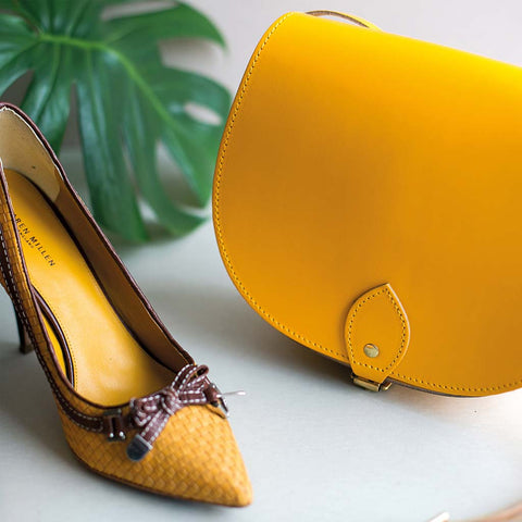 Yellow Saddle Bag