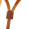 Trafalgar Tan Leather Trouser Braces