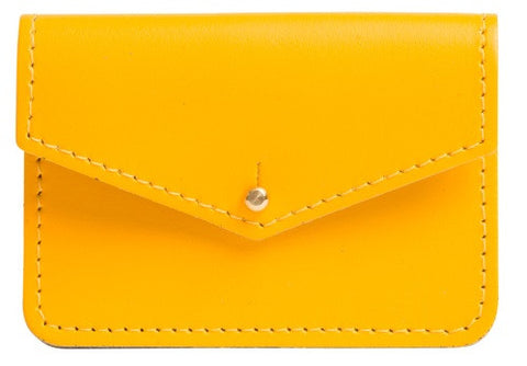 Sterling Yellow Money Pouch