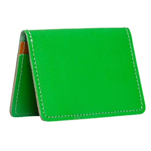 Bishopsgate Emerald Leather Card Holder