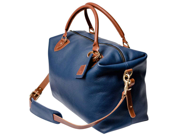 Regency Calf Dark Blue Travel Bag