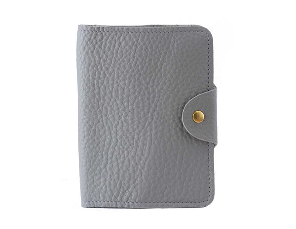 Passport Cover Grey Grain